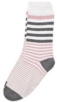 Melton Sock - Stripes Alt Rosa