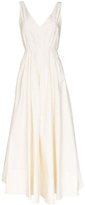 Roksanda sequin strap low-back gown