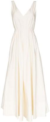 Roksanda Sequin Strap Low-Back Gown