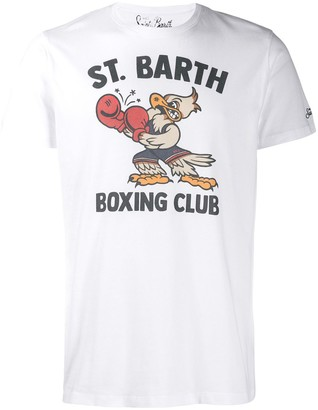 MC2 Saint Barth eagle boxer T-shirt