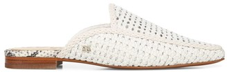 Sam Edelman Elva Woven Leather Mules
