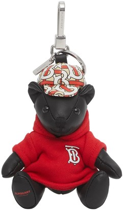 Burberry Thomas Bear monogram charm