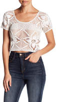 Billabong Sun Catcher Crochet Lace Tee