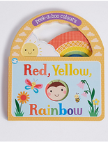 Marks and Spencer Little Learners Rainbow Book