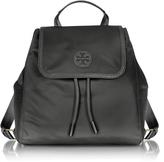 Tory Burch Scout Mini Black Nylon Backpack