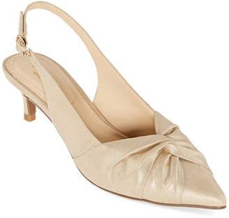 Liz Claiborne Womens Quinlee Pumps Pointed Toe Spool Heel