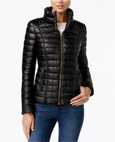 GUESS Aliye Quilted Puffer Coat