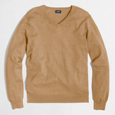 J.Crew Factory Tall harbor cotton V-neck sweater