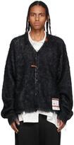 Thumbnail for your product : Miharayasuhiro Black Mohair Knit Cardigan