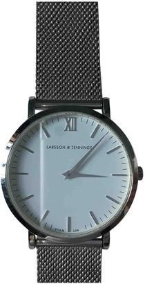 Larsson & Jennings Silver Steel Watches