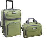 Traveler's Choice Select Festival 2 Piece Luggage Set