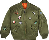 Studio Job XO Barneys New York Studio Job Patch-Appliquéd Bomber Jacket-GREEN