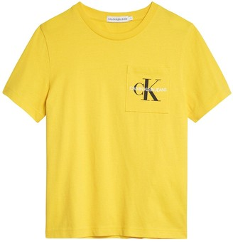 Calvin Klein Jeans Boys Monogram Pocket T-shirt