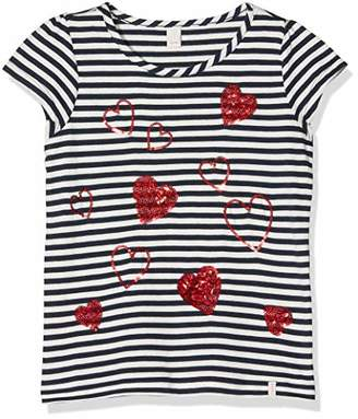 Esprit Girl's Short Sleeve Tee-Shirt T (White 110), 140 (Size: Small)