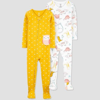 Just One You Made By Carter's Toddler Girls' 2pk Owl/Dino Footed Pajama - Just One You® made by carter's