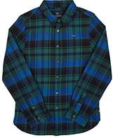 Scotch Shrunk PLAID COTTON FLANNEL SHIRT