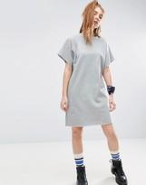 Asos Sweat Dress With Raglan Sleeve