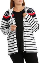 Multi Stripe Long Sleeve Sweat Top