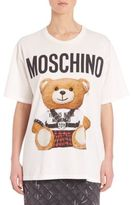 Moschino Bear Logo Cotton Tee
