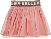 Scotch R'Belle Layered Chiffon Skirt-PINK