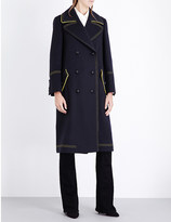 Burberry Military double-breasted wool coat