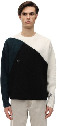 A-Cold-Wall* Tri Tone Wool Knit Sweater