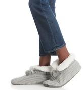 Sole Society PomPom Knit Slipper Socks