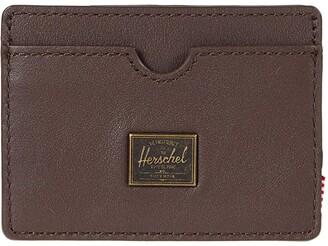 Herschel Charlie Leather RFID (Brown) Wallet