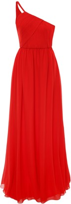 Lanvin Long Silk Dress