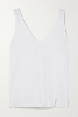 Bassike Net Sustain Organic Cotton-jersey Tank