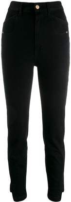 Just Cavalli Skinny Cropped Denim Jeans