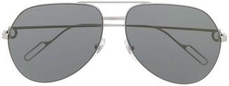 Cartier Premiere de aviator-frame sunglasses