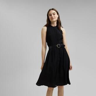 Esprit Full Sleeveless Shirt Dress
