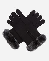 N.Peal Fur And Cashmere Gloves