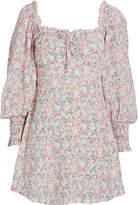 Faithfull The Brand Ira Floral Mini Dress