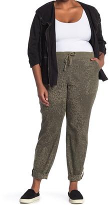 XCVI Lynx Leopard Print Pants