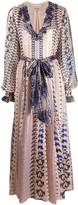 Temperley London Delilah snakeskin-print dress