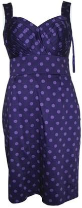 Hobbs Purple Cotton - elasthane Dress for Women