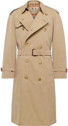 Burberry Westminster Cotton-Gabardine Trench Coat