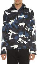 Valentino Camouflage Printed Reversible Jacket