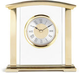 Marks and Spencer Metal & Glass Mantel Clock