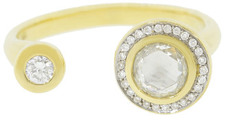 Pamela Love White Diamond Gravitation Ring