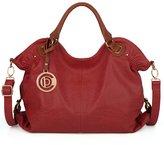 UTO Women Tote Bag PU Leather Hobo Style Handbag Large Capacity Shoulder Bags