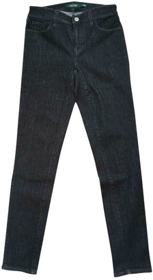 Lauren Ralph Lauren Black Cotton - elasthane Jeans for Women