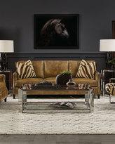 Bernhardt Edmond Leather Sofa