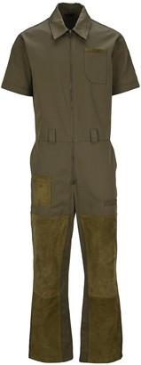Fendi Short-Sleeved Overalls