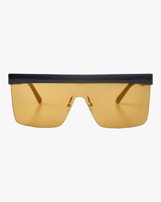 Stella McCartney Flat Top Shield Sunglasses