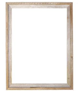 "Rustic Decor Llc Tulsa Signature Reclaimed Rustic Barn Wood Open Frame, 20""x24"""