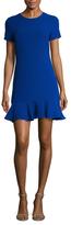 Shoshanna Textured Drop Waist Dress