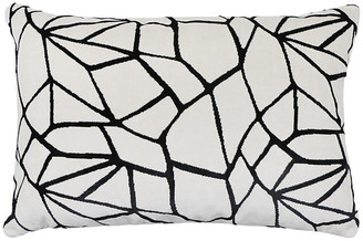 The Piper Collection Maddox 16x24 Lumbar Pillow - Onyx Velvet